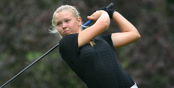 Henderson Leads Girls Division after second round