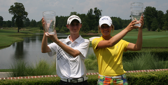 Playoffs lead to first AJGA victories
