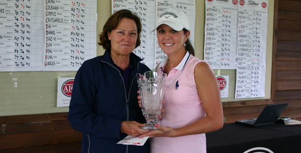 Talley goes wire-to-wire at AJGA Girls Championship