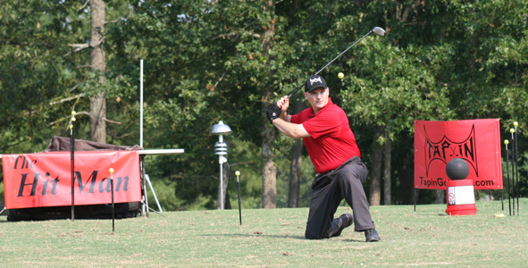 The Hit Man amazes audience at WindStone Golf Club