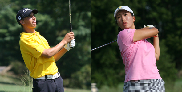 Houston, Cheng lead after two rounds