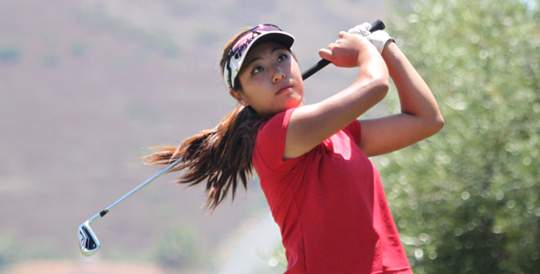 Jeong takes over lead in Girls Division