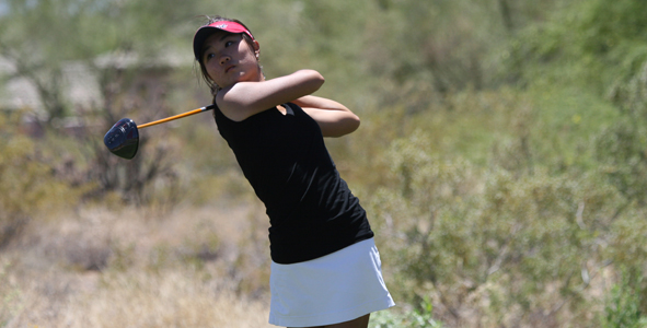 Chung takes three-stroke lead in Girls Division