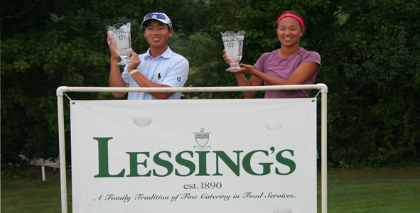 Kim and Park Win Lessing's AJGA Classic