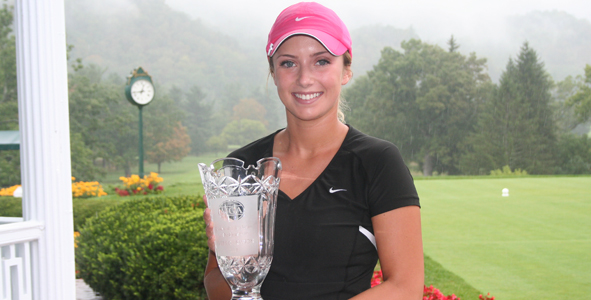 Lauren Salazar wins at rain-soaked Greenbrier