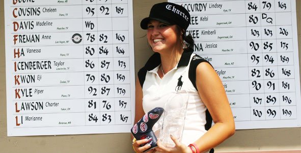 Lawson earns medalist honors