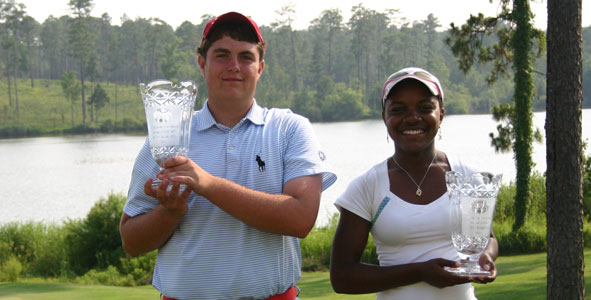 McBride and Stackhouse take home titles at Steelwood
