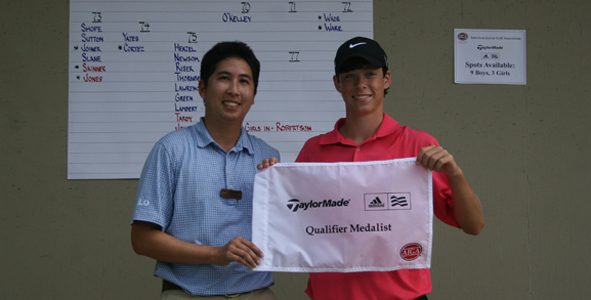 O'Kelley medals at TaylorMade-adidas Golf Qualifier