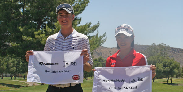 Gunn, Tan medal in TaylorMade-adidas Golf Qualifier