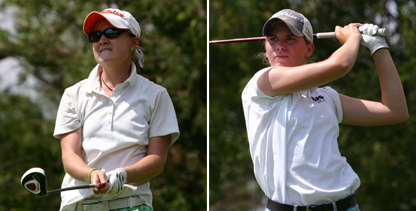 Pike, White share lead heading into final round