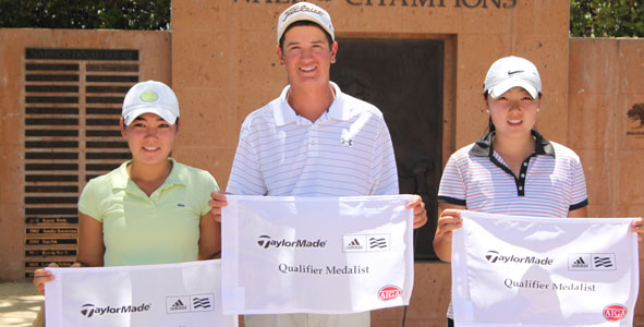 Rajcic, Lee and Yu medal in TaylorMade-adidas Golf Qualifier