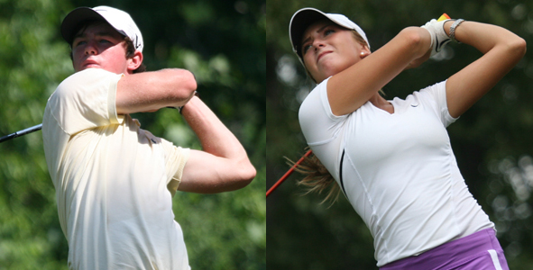 Cannon, Salazar lead after first round