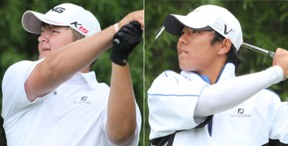 Proveaux and Cho lead Boys Division after first round