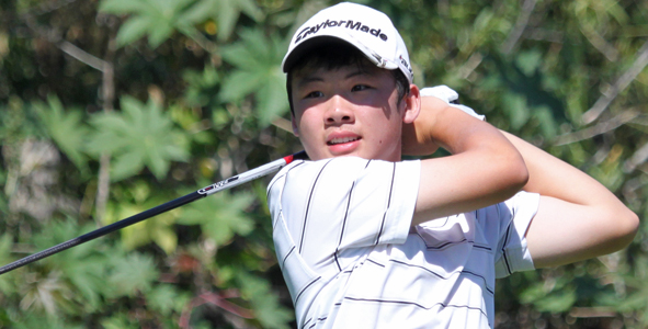 Shaun takes over second-round lead