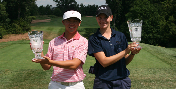 Shih, White win at AJGA Northern Virginia Junior