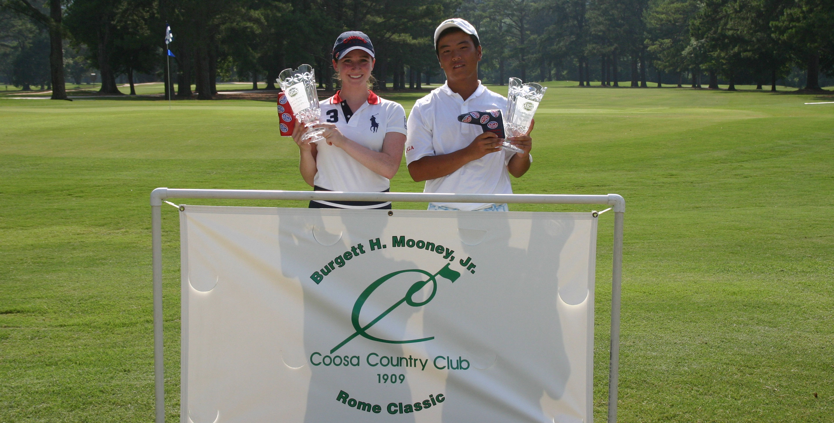 Shim and Kay win title at Burgett H. Mooney, Jr. Rome Classic