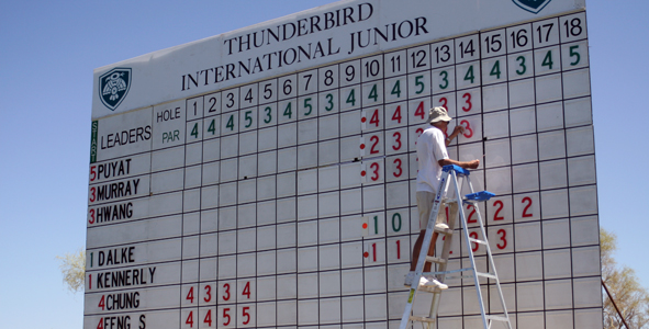 FJ Live Scoring: On the course and in your hand