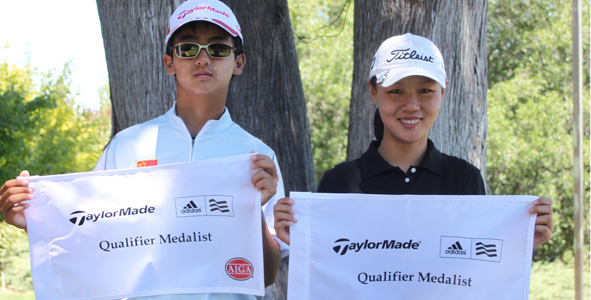 Dou, Wang Medalist in Qualifier