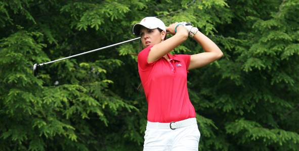 Emma Talley sits in first after second round