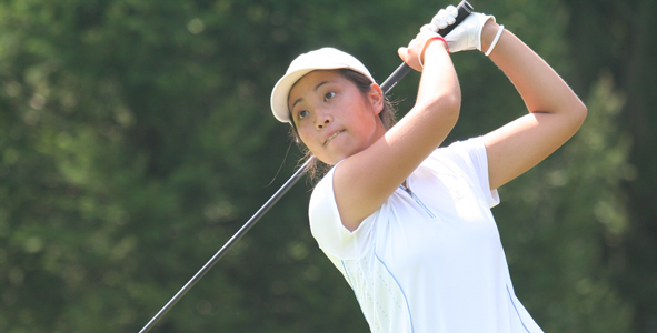 Tsukiyama takes lead of Girls Division