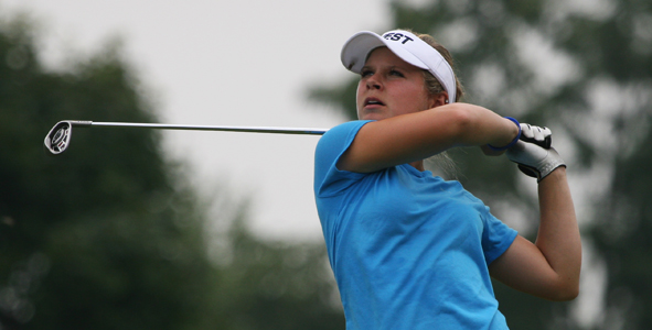 Weaver takes lead in Girls Division after first round
