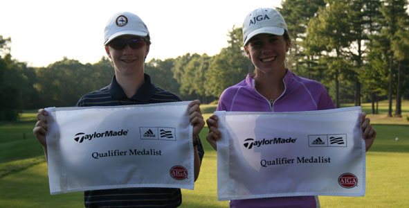 Lynch and Whaley Earn Medalist Honors