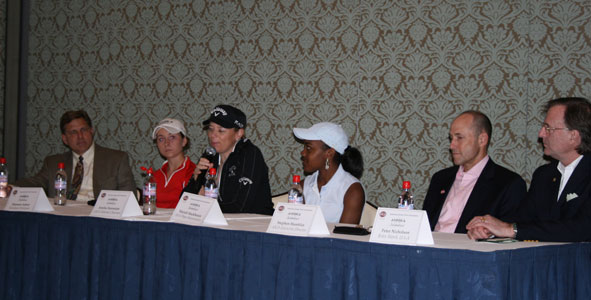 ANNIKA Invitational holds press conference