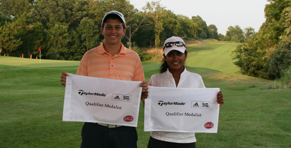 Hall, Thiagaraj earn medalist honors