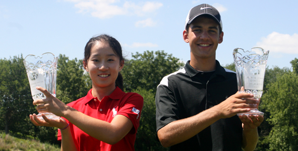 Zhu, Kieffer each win first AJGA titles