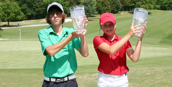 Carlson, Brooks capture first GGGA Junior All-Star titles