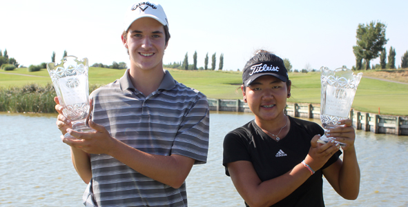 2011 Champions: Andrew Buchanan, Amy Lee