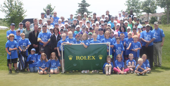 Rolex Girls Junior Championship hosts First Tee clinic