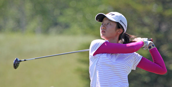 China's Yu Liu grabs lead at Rolex Girls Junior Championship