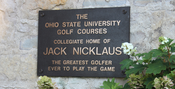 Juniors visit Jack Nicklaus' college course
