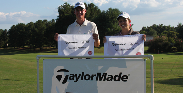 Schneider and Maymon medal at TaylorMade-adidas Qualifier