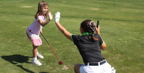 AJGA juniors give back to local golf community
