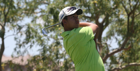 Tonkham takes lead after day one of Las Vegas Junior Open