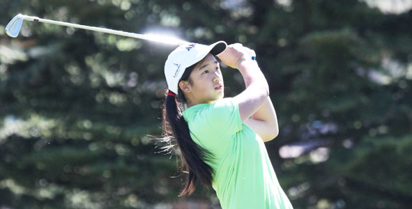 Wong leads Girls Division after second round