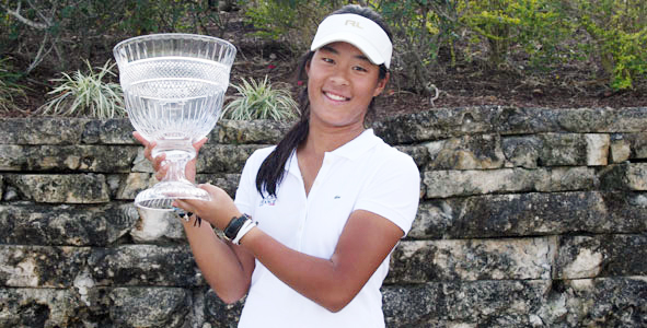 Boutier claims ANNIKA Invitational title