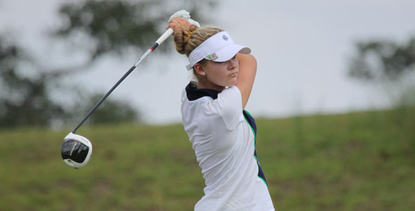 Kim, Clark share lead at Frederica Golf Club