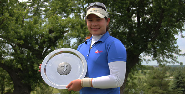 Jutanugarn claims first AJGA victory, sets AJGA record