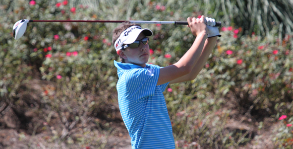 Colombian junior sits atop leaderboard