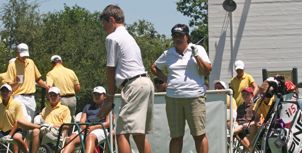 LPGA Tour player supports AJGA
