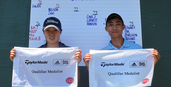 Sakata, Lee Claim Medals at TaylorMade-adidas Golf Qualifier