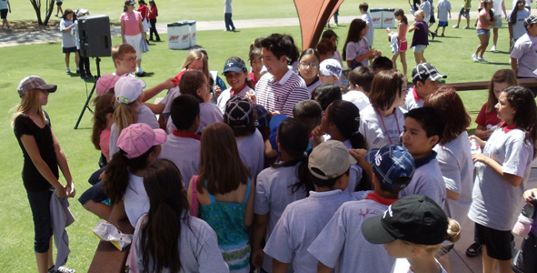 The First Tee Visits Longbow Golf Club