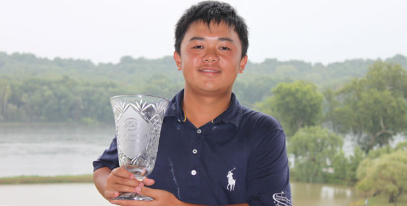 Liang gets first AJGA win