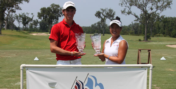 Lewis, Kim win the Frederica Junior Open