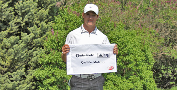 Robson medals at TaylorMade-adidas Golf Qualifier